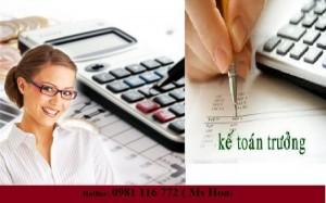 Khóa học nghiệp vụ kế toán trưởng hành chính sự nghiệp và kế toán trưởng doanh nghiệp