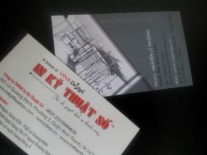 In danh thiếp - in name card cho doanh nhân giá rẻ - đẹp - sang trọng