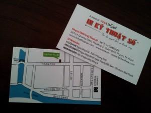 Nhận in name card giá rẻ cho shop online