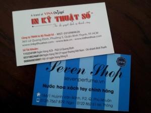 Nhận thiết kế in ấn name card nhanh chóng, giá rẻ, lấy liền