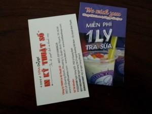 In nhanh name card giá rẻ tại Phú Nhuận