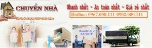 Thuê taxi tải chuyển nhà trọn gói giá rẻ tại Hà Nội