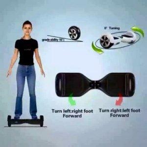 Xe điện thông minh tự cân bằng