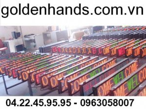 Biển quảng cáo led ma trận tại Hà Nội