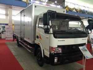 Cần mua xe tải veam 5 tấn VT490 máy huyndai mới 100% thùng dài 6m1 giá rẻ nhất