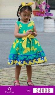 Đầm bướm xanh