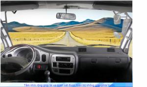 Nội thất Cabin rộng, không gian thông thoáng , tiện nghi tạo cảm giác thoải mái, vô lăng điều khiển gật gù , điều chỉnh thuận tiện ở mọi tư thế lái, được trang bị điều hòa hợp lý tạo sự thông thoáng, làm mát nhanh chóng, gương kính chỉnh điện