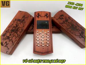 Vỏ gỗ điện thoại