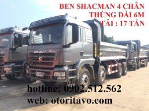 Xe Ben Shacman Thùng 6m , Tải 17 Tấn