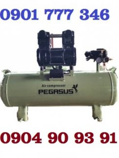 Máy nén khí không dầu giảm âm,không dầu Model: TM- OF1500- 70L,Máy nén khí không dầu giảm âm 2HP