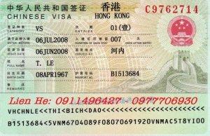 Visa đi Hong Kông