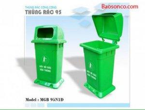 Thùng rác công cộng 95 lít, 120 lít, 240 lít, 660 lít