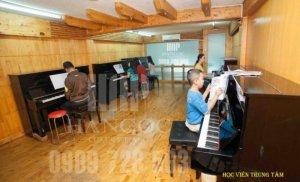 Tuyển sinh các lớp Piano,Guitar,Thanh Nhạc uy...