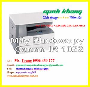 Máy photocopy CANON IR 1022, CANON IR-1022 đã qua sử dụng giá siêu tốt