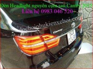 Bodykit, đuôi cá, che mưa Toyota camry 2015