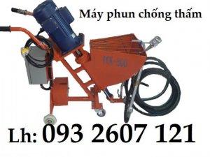 Máy phun chống thấm, máy phun vữa chống thấm giá rẻ tại Hà Nội