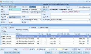 Phần mềm quản lý Siêu Thị Mini tại Vũ Quang Tỉnh Hà Tĩnh