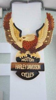 Mỹ nghệ gỗ (mô hình chim ưng Harley)