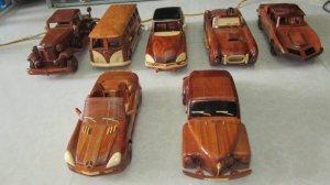 Mỹ nghệ gỗ (mô hình xe ô tô)