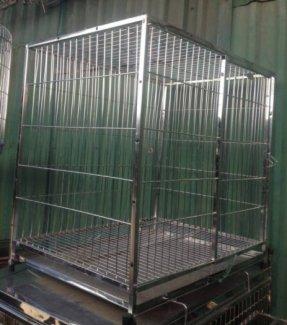 Chuồng Chó Inox Hàng Kỹ