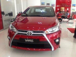 Xe Toyota Yaris nhập Thái Lan màu Đỏ
