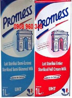 Sữa tươi tiệt trùng Promess Pauls Silena nhập khẩu