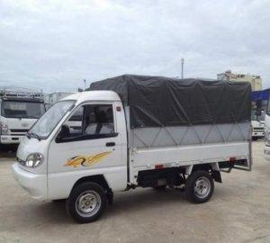 Giá xe tải Giải Phóng 700kg thùng mui bạt, thùng kín, thùng lửng