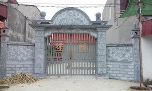 cổng điêu khắc đẹp
