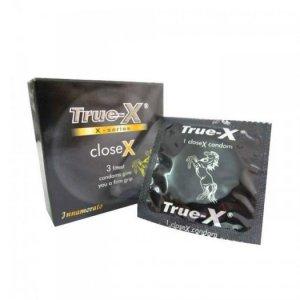 Bao Cao Su True-X CloseX Hộp 3 BCS