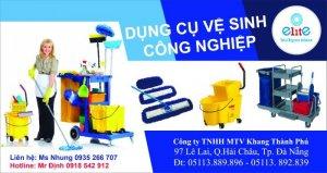 Dụng cụ vệ sinh công nghiệp của công ty TNHH MTV Khang Thành Phú