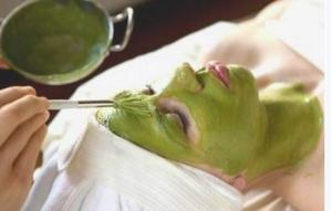 Bột trà xanh nguyên chất Bảo Lộc trị mụn