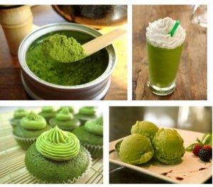 Bột trà xanh nguyên chất - đẹp da - tốt cho sức khỏe