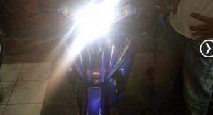 Đèn pha LED cho xe máy