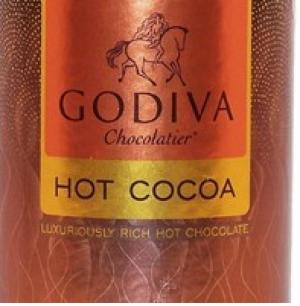 Bột Chocolate sữa Godiva hộp thiếc