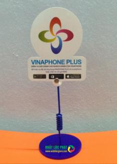 WOBBLER Vinaphone, kẹp quảng cáo, kẹp lò xo, lò xo quảng cáo,pop quảng cáo, wobbler quảng cáo, in wobbler, thiết kế wobbler, mẫu wobbler, kẹp nhựa, kẹp quảng cáo, kẹp lò xo...