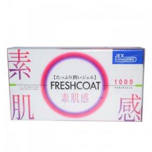 Bao Cao Su Jex Freshcoat - Ôm Khít Hộp 12 BCS
