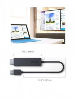 Microsoft Wireless Display Adapter, Wireless Display Adapter For Surface ,Surface Pro...New Box
