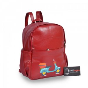 Ba Lô Teen màu đỏ OPBLT0615005