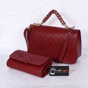 Túi xách bộ đôi nhỏ WNTXV0415023 màu đỏ