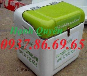 Thùng giao hàng, thùng tiếp thị, thùng chở hàng sau xe máy, thùng giao đồ ăn nhanh