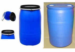 Thùng phuy nhựa, thùng phuy 220l, thùng phuy nhựa nắp kín, thùng phuy nhựa có đai