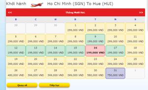 Vé máy bay du lịch trong nước giá cực rẻ tháng 12 tháng 1
