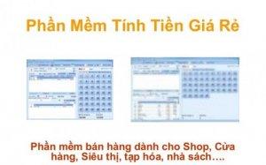 Phần mềm quản lý bán hàng cho tạp hóa shop quần áo