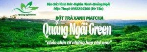 Bột Trà xanh QuangNgaiGreen