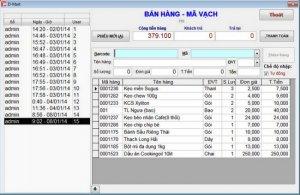 Phần mềm quản lý Siêu Thị Mini bán tại Bình Phước Bình Dương Đồng Nai
