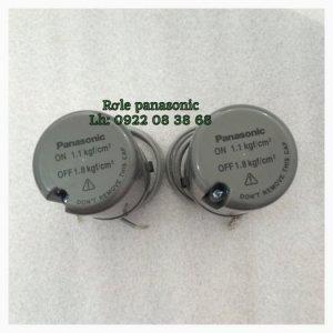 Rơle Máy Bơm Tăng Áp Panasonic ON 1.1 kgf. Off 1.8 kgf