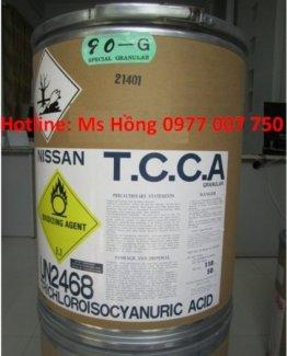 Tricholoroisocyanuric acid,  TCCA Hạt 200G