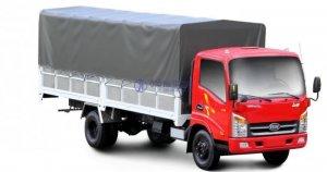 Xe tải veam VT260 thùng 6m2