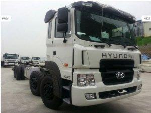 Hyundai Hd360 21 Tấn- Xe Tải 5 Chân Nhập Khẩu Nguyên Chiếc, Giao Ngay!