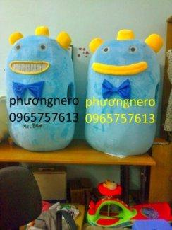 Mô Hình Quảng Cáo, Mascot Liên Hệ Ngay